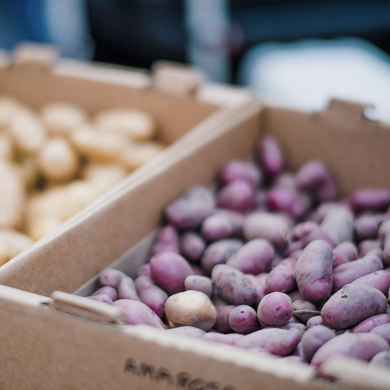 Lokalt odlad potatis